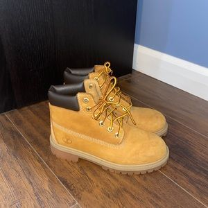 Boys Timberland Combat Boots Size 1